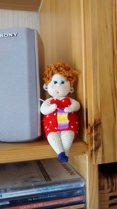 I wish I enjoy making studies. Crochet For Boys, Crochet Home, Love Crochet, Crochet Gifts, Crochet Baby, Knit Crochet, Amigurumi Doll, Amigurumi Patterns, Crochet Patterns