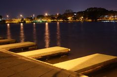 Lagoa do Taquaral, Parque Portugal, Campinas, Sâo Paulo