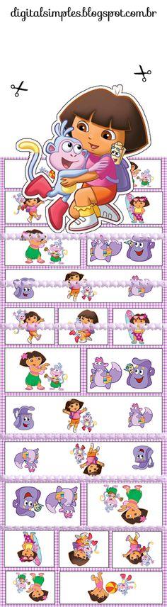 Dora the Explorer: lots of Free Printables !!!