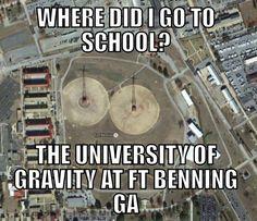 Hooah US Army Airborne School, Fort Benning #AATW