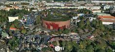 Linnanmäki Amusement Park Amusement Park, Helsinki, Finland, Dolores Park, Travel, Viajes, Destinations, Traveling, Trips