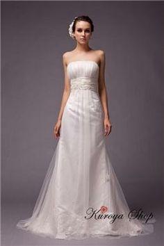DAW-05 スレンダーラインのウエディングドレス