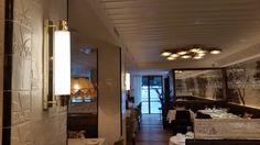 Iluminación para el restaurante L'Olive