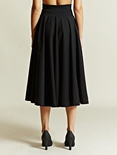 Jil Sander Women's Wide Hem Skirt | LN-CC