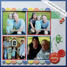 Posts about Children Scrapbook Layouts written by Karyn McDermaid-Rolfe Scrapbook Borders, Scrapbook Sketches, Baby Scrapbook, Scrapbooking Layouts, Scrapbook Cards, Chevron Borders, Dancing Daisy, Picture Layouts, Cute Icons