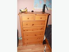 BEDROOM SET...TWO PIECE...SOLID PINE.. WELL MADE Stuff For Free, Used Victoria, Solid Pine, Bedroom, Furniture, Home Decor, Decoration Home, Room Decor, Bedrooms