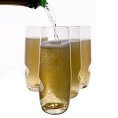 Govino Set of 4 polymer Champagne Glasses