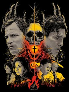 True Detective Season 1 - poster art