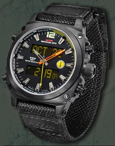 Stryker Black – Special Ops Watch