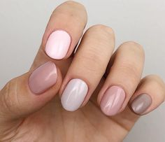 The advantage of the gel is that it allows you to enjoy your French manicure for a long time. There are four different ways to make a French manicure on gel nails. The choice depends on the experience of the nail stylist… Continue Reading → Gradient Nails, Fun Nails, Galaxy Nails, Milky Nails, Crome Nails, Nagellack Trends, Dream Nails, Stylish Nails, Nail Polish Colors