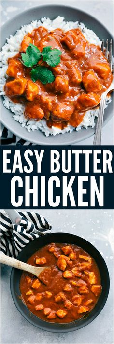 This Easy Butter Chicken comes together so easily with the help of Patak's® Butter Chicken Curry Simmer Sauce and diced chicken. Serve it over rice and you have a flavorful and amazing meal for your family ready in under 30 minutes!