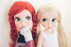 Repaint Disney Animators Collection Ariel & Tangled