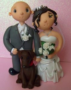 Tinylove Wedding Cake Toppers :: Tinylove custom personalised wedding cake toppers