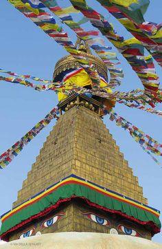 Stupa di Bodhnath (Nepal)
