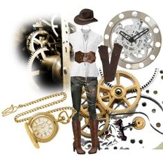cute steampunk inspired outfit