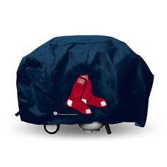 Boston Red Sox MLB Economy Barbeque Grill Cover