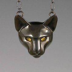 handcrafted animal totem jewelry, black cat totem jewelry, black cat jewelry.