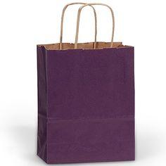 Plain Purple Paper Gift Bag (Welcome Bag)