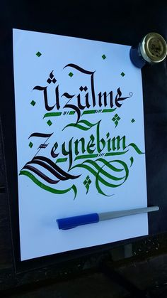 Calligraphy N, Hat, Lettering, Penmanship, Script Logo, Chip Hat, Drawing Letters, Hats, Hipster Hat