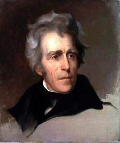 Andrew Jackson , President of the United States by Thomas Sully