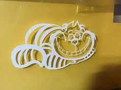 cheshire cat decal - Google Search