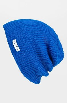 $16, Blue Beanie: Neff Daily Beanie Blue One Size. Sold by Nordstrom. Click for more info: http://lookastic.com/men/shop_items/159757/redirect