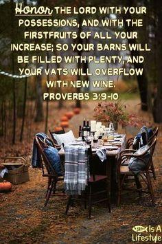 Proverbs 3:9-10 facebook.com/donttakethemark