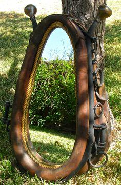Horse Collar Mirror with Hames...... Still love these! CalamityVille