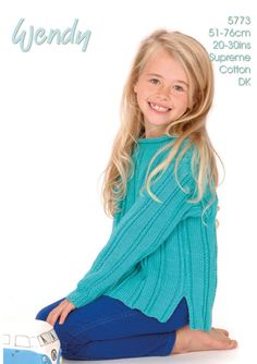 Child's Roll Neck Sweater in Wendy Supreme DK - 5773. Discover more Patterns by Wendy at LoveKnitting. The world's largest range of knitting supplies - we stock patterns, yarn, needles and books from all of your favourite brands.
