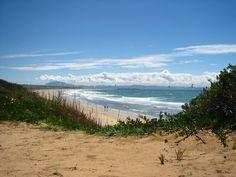 Una vista preciosa desde las dunas...