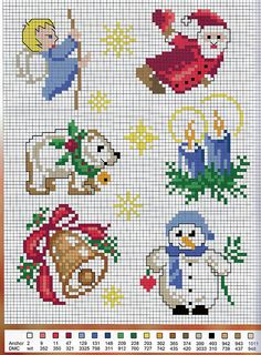 xstitch patterns. Nice and versatile