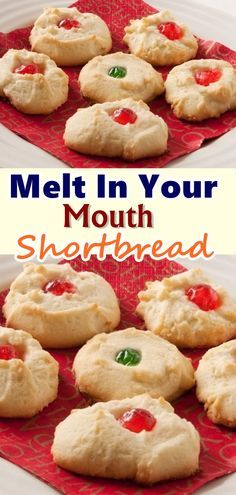 This quick and easy shortbread will literally melt when you take a bite. Great for Christmas parties with a little bit of decorating. These are the shortbread cookies my mom has made for Christmas every year since I was a child. Easy Cookie Recipes, Waffle Recipes, Easy Desserts, Baking Recipes, Dessert Recipes, Easy Recipes, Eggless Recipes, Holiday Baking, Christmas Baking
