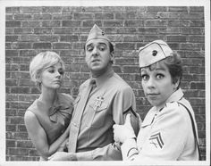 Elizabeth MacRae, Jim Nabors and Carol Burnett, Gomer Pyle, U.S.M.C. (1964-1969) CBS
