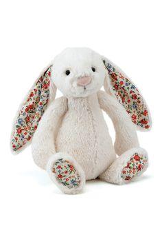 Kids Hand Picked Toys Blossom Bashful Cream Bunny - Kids Soft Toys - Birdsnest Fashion Clothing