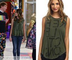 Austin & Ally: Season 4 Episode 2 Ally's Green Muscle Tee