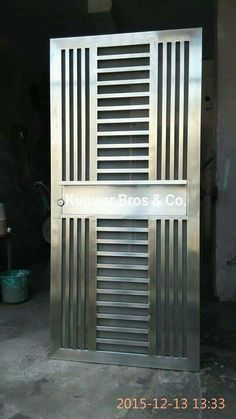 We are the best manufacturer of Stainless Steel Doors in Noida. We also providing Safety Doors, Security Doors, Main Doors, SS doors, as per requirement for more information please contact or call us www.kunwarbros.com - by Kunwar Bros & Co, Noida