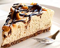 Our Baileys no-bake cheesecake makes an ideal and gratifyingly impressive dessert when you're entertaining friends and family. It's so simple to make combining very few ingredients including double cream and Baileys for the topping and digestive biscuits and butter for the base. There's no need to bake this cheesecake, all you have to do is pop it in the fridge and wait a few hours or overnight for it to set. Each slice contains 668 calories and 60g of fat. Sprinkled with grated chocolate…
