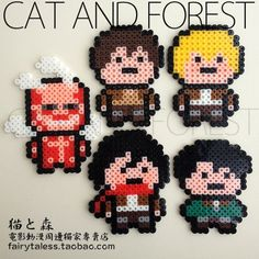 Perler bead pattern attack on titan