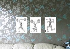Personalised Weightlifter - Sports Word Art Print. FREE UK P&P. Sports gift, Birthday, Special Occasion. - pinned by pin4etsy.com