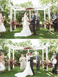 outdoor garden wedding   ceremony ideas   elegant gold and pink wedding   #weddingchicks
