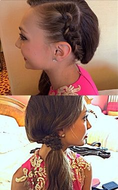 Maddie's hair for the TCAs