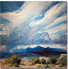 Chasing Santa Fe: New Mexico Artist Louisa McElwain - 1953 - 2013 Saw some of her art in Phoenix maybe a year ago and I loved the texture and colors