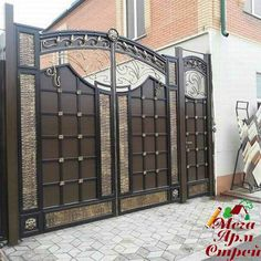 40 Glorious Front Gate Designs for Your Home - Buzz 2018
