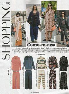 Morfeo Viscose Blouse & Heracles Trousers by Med winds - Publicado por la revista Yo Dona