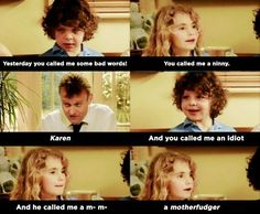 """When Ben and Karen went to war: 