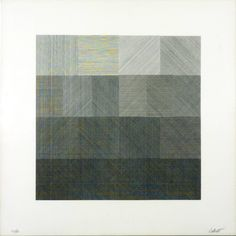 Sol LeWitt · (No Title) · lithograph on paper · 1971 · 355 x 355 mm · Tate · UK
