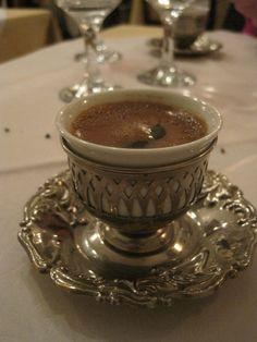 Turkish tea in the most regal cup :) Istanbul - Turkey