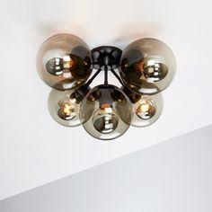 do custom with 1 as sconce Modo 5-Globe Ceiling Mount