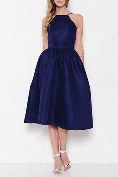 Dance the Night Away Dress - Navy – Hazel & Olive