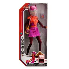 Disney Big Hero 6 Honey Lemon Doll 11 -- Find out more about the great product at the image link-affiliate link Disney Big Hero 6, Disney Fun, Disney Pixar, Disney Dolls, Barbie Dolls, Hero 6 Movie, Crazy Sister, Disney Memes, Disney Merchandise